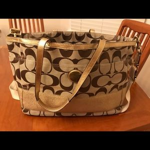 Coach Diaper/laptop bag